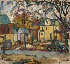 Abraham Manievich (1881-1942) Urban Landscape
