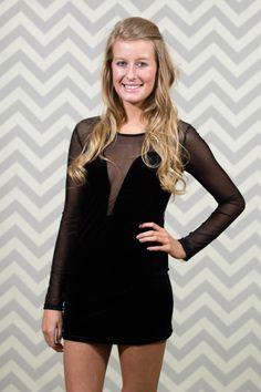 Shop Twenty Something - Sheer Sweetheart Dress in Black, $36.00 (http://www.shoptwentysomething.com/sheer-sweetheart-dress-in-black/)
