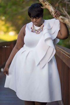Moda plus size. Curvy Girl Fashion, Plus Size Fashion, Plus Size Dresses, Plus Size Outfits, Xl Mode, Plus Zise, Look Plus Size, Plus Size Beauty, Plus Size Wedding