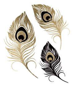 Black and Gold Peacock Feathers Temporary Tattoo TattooFun,http://www.amazon.com/dp/B00JWUKS10/ref=cm_sw_r_pi_dp_AXsEtb0R2C5B1QPD