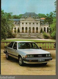 1982 Audi 5000 Turbo original vintage magazine advertisement