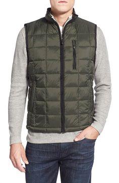 RAINFOREST ThermoLuxe™ Quilted Vest Estilo De Hombre 48d302214325