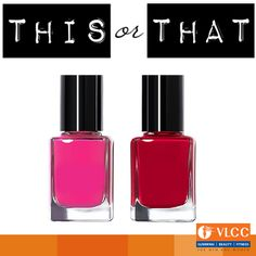 Red or Pink?  Which color are you going with this Valentine's Day?