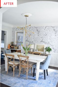 Before and After: This Dining Room Got a Dramatic Makeover