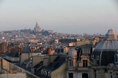 The rooftops of Paris: © REUTERS/Philippe Wojazer A general view shows city rooftops with chimney stacks of residential apartment buildings in Paris, February 6, 2015.