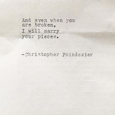 """5,224 Likes, 93 Comments - Christopher Poindexter (Poet) (@christopherpoindexter) on Instagram: """"Hand typed poems such as this available through link in bio """""""