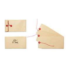 Koperty z zapięciem pętelkowym #envelope