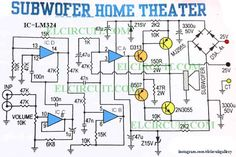 Subwoofer Home Theater Power Amplifier in 2018 . Sep Subwoofer Home Theater Amplifier circuit is designed for subwoofer speaker system that used on Home Theater Amplifier, Home Theater Subwoofer, Home Theater Speakers, Home Theater Projectors, Subwoofer Speaker, Powered Subwoofer, Home Theater Setup, Best Home Theater, Diy Amplifier
