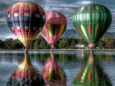 A hot air balloon ride?