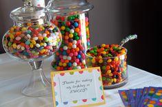 Polka Dot Party - good food ideas