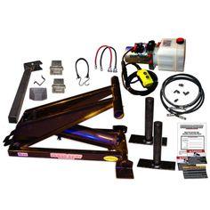 6 Ton (12,000 lb) Dump Trailer Hydraulic Scissor Hoist Kit - PH416