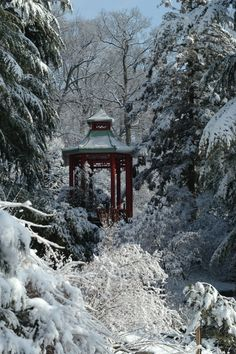 In a dream world my house backs into a forest wear my garden path can just trail off :)