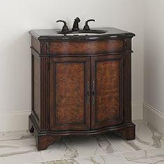 "33"" Fulton Sink Chest Bathroom Vanity 08304-110-302 #BathroomRemodel #BlondyBathHome #BathroomVanity  #TraditionalVanity"