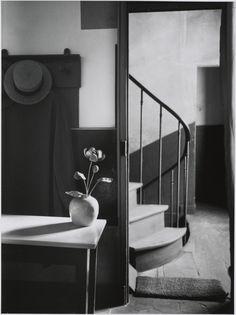 Chez Mondrian; André Kertész (American, born Hungary, 1894 - 1985); Paris, France; 1926; Gelatin silver print; 24.8 x 18.6 cm (9 3/4 x 7 5/16 in.); 84.XM.193.26; J. Paul Getty Museum, Los Angeles, California