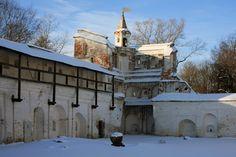 Tour Nord-Ouest de la Cour Episcopale - Vologda - Construite entre 1714 et 1744.