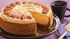 Pumpkin Pecan Cheesecake