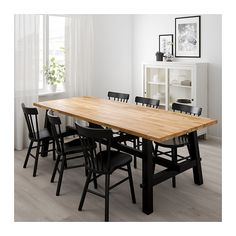 IKEA SKOGSTA dining table