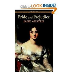 "Pride & Prejudice- Jane Austen- my favorite ""classics"" author."