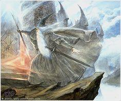 Pass the Doors of Dol Guldur by John Howe