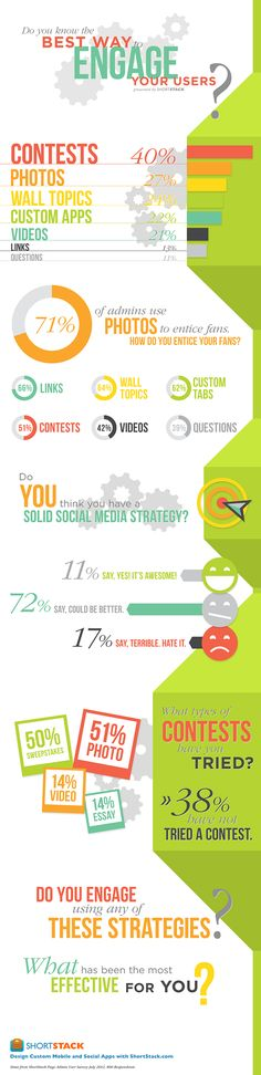 What Are The Best Ways To Engage Social Media Users? #INFOGRAPHIC