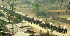 Arakanlı Müslümanlara Mynmar\'da katliam yapılıyor