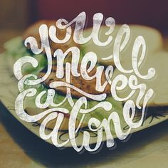 Handlettered Things volume I by Fran Efless, via Behance