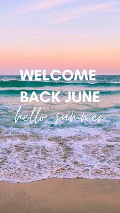 Hello June Wallpaper | Hello June Month