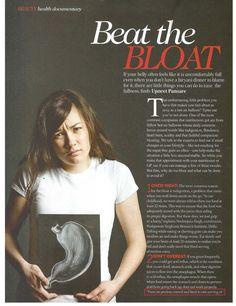 Beat the bloat (page 1), a Femina article by Taranjeet Kaur, metabolic balance® coach and nutritionist, AktivOrtho