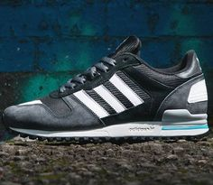 check out eb39d d5613 adidas Originals ZX 700-Carbon-Black-Running White Adidas Zx, Adidas  Sneakers