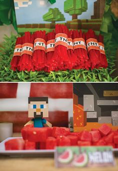 Minecraft TNT Red Vine bundles