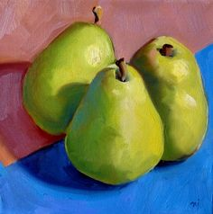 We'll be painting our own pears on May 7th. Join us!
