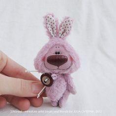 Фиолетовый зайка