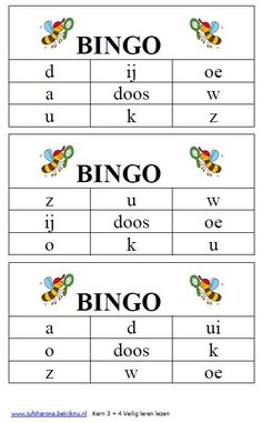bingo veilig leren lezen kern 3 en 4 Speech Language Therapy, Speech And Language, Language Lessons, Teaching Activities, Teaching Tips, Primary School, Pre School, Creative Teaching, School Hacks
