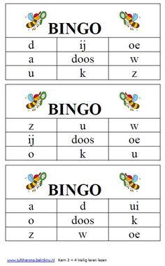 bingo veilig leren lezen kern 3 en 4