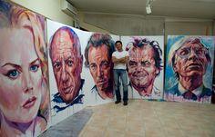 Tachi, artista plástico y retratista
