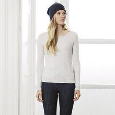 Cashmere Stitch Jumper | The White Company