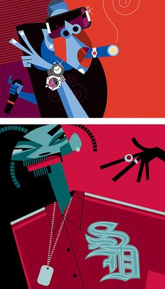 Pablo Lobato Artist   Character Illustrations by Pablo Lobato   Inspiration Grid   Design ...