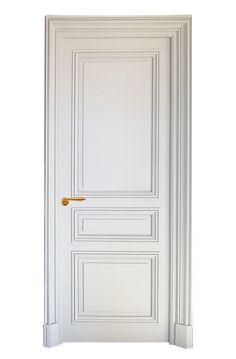 Discover the splendid Haussmann Gate Custom Interior Doors, Door Design Interior, Gate Design, House Design, Modern Georgian, Georgian Doors, Georgian Interiors, Hallway Designs, Swinging Doors