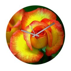 NEW - Design YellowRose002 on different items like this wall clock CafePress has the best selection of custom t-shirts, personalized gifts, posters , art, mugs, and much more.{Cafepress-VbuW2Mvd}