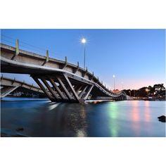 Bridge to La Barra, Uruguay.