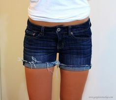 Finding the perfect fit for denim shorts