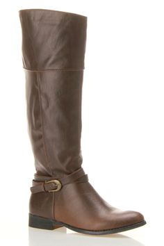Bucco Vicci High Boot In Brown
