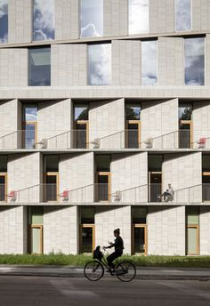 Rigshospitalet's New Patient Hotel & Administration Building, Copenhagen, 2015 - 3XN Architects