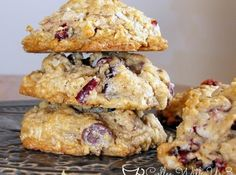 Craisin Breakfast Cookies Recipe