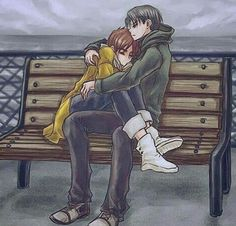 """• """" if you're cold come here *hugs Eren*"""""""