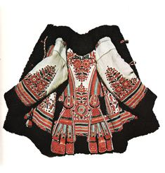 Hungarian Embroidery — miss-mary-quite-contrary: (via weirdfriends) - Tribal Fashion, Boho Fashion, Fashion Design, Folklore, Embroidered Leather Jacket, Hungarian Embroidery, Wool Embroidery, Hippy Chic, Vogue
