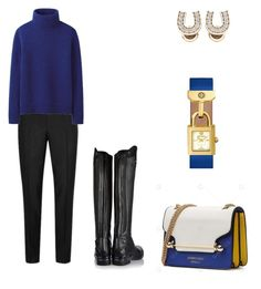 Жокей by shkolashopinga on Polyvore featuring polyvore fashion style Uniqlo Ariat Tory Burch Topman clothing