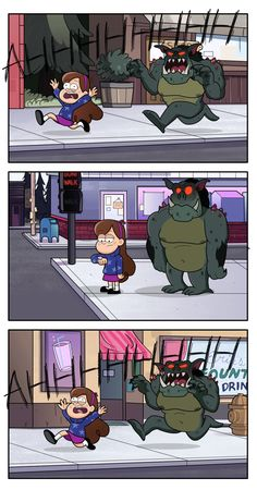 comics and cartoons See more 'Gravity Falls' images on Know Your Meme! Gravity Falls Funny, Gravity Falls Fan Art, Gravity Falls Comics, Web Comic, Monster Falls, Desenhos Gravity Falls, Gavity Falls, Walmart Humor, Grant Morrison