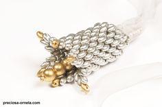 Kerrie Slade have used Czech PRECIOSA Traditional Czech seed beads in her creation.|Preciosa Ornela