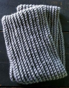Crochet Stitch That Looks Like Knit - Instructions & Free Pattern